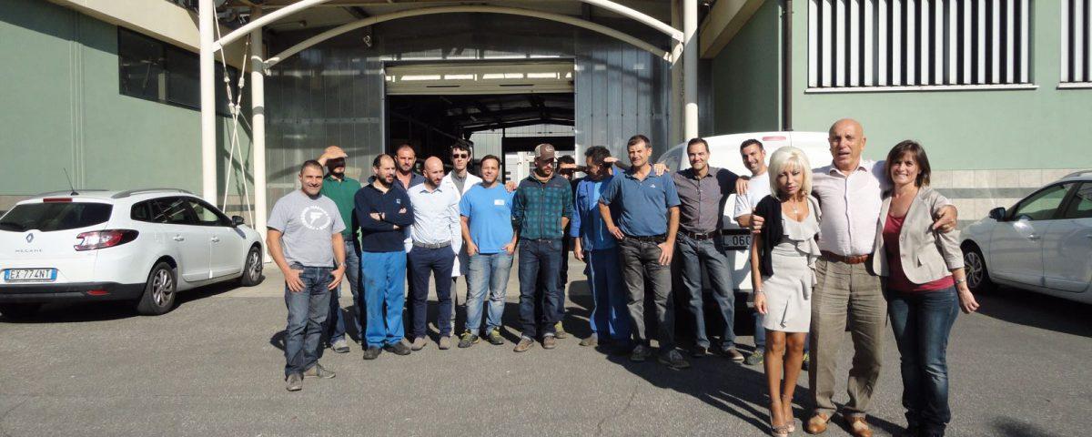 personale dell' azienda Water Team